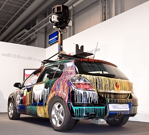 Google Street View Car in CeBIT 2010