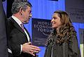 Gordon Brown, Queen Rania - WEF Annual Meeting Davos, 2008.jpg