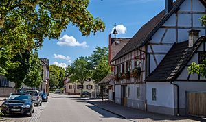 Gottenheim - View into the town