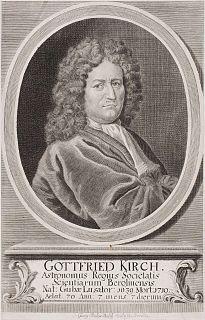 Gottfried Kirch German astronomer