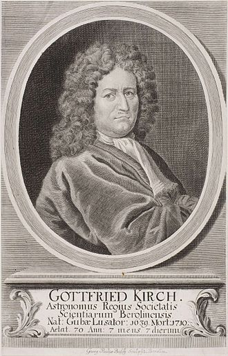 Gottfried Kirch - Image: Gottfried Kirch