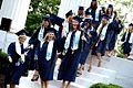 "Graduating Seniors passing through the Columns at Westminster College to enter the ""real world"".jpg"