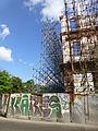 Graffiti et échafaudages à La Havane.jpg