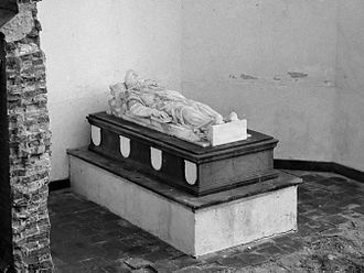 Reinoud van Brederode (1567–1633) - His tomb before 1965.