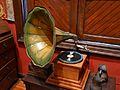 Gramòfon a la casa Benlliure, València.JPG