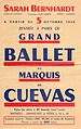Grand Ballet du Marquis de Cuevas flyer for performances on October 5, 1954. From the Marquis de Cuevas Collection at Ailina Dance Archives.jpg