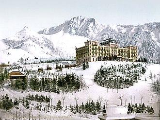 Caux, Switzerland - Grand Hotel in Caux
