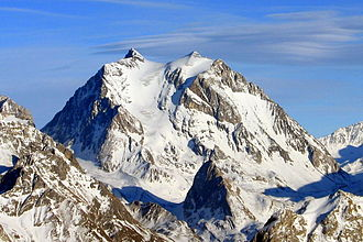 Maurienne - The Grande Casse is the main peak of the valley.