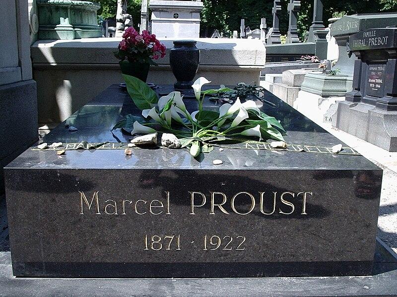 File:Grave of Proust, Père-Lachaise Cemetery, Paris.jpg