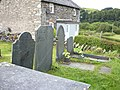 Graves and cottages at Cefn Nannau - geograph.org.uk - 1732752.jpg