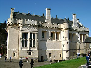 Alexander Erskine of Gogar - Alexander Erskine negotiated terms with the Commendators in the Great Hall of Stirling Castle while King James VI was terrified.