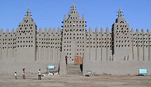 Mali-Demografi-Fil:Great Mosque of Djenné 3 (cropped)