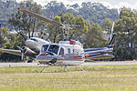 Great Slave Helicopters (C-FNTR) Bell 205B, operated by Jayrow as Helitack 237, at Albury Airport.jpg