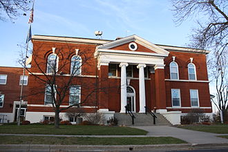 Green Lake County, Wisconsin - Image: Green Lake Wisconsin Courthouse November 2010