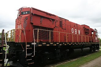 ALCO Century 430 - Rear of GBW 315
