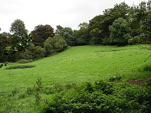 English: Green Hill Beautifully rolling hills ...