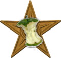 Green apple barnstar.png
