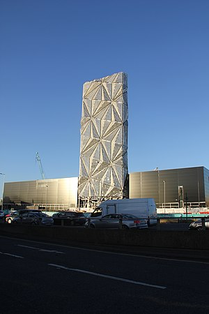 C. F. Møller Architects - Greenwich combined heat and power (CHP) energy centre
