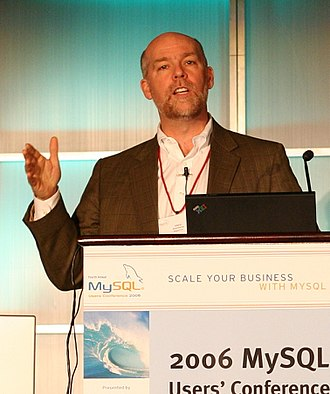 Greg Gianforte - Gianforte speaking at a business conference in 2006