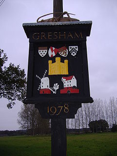 Gresham, Norfolk Human settlement in England