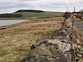 Grindon Lough and the road to Newbrough - geograph.org.uk - 150976.jpg