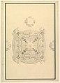 Ground Plan for a Catafalque for the regent of France Philip, Duke d'Orleans (1674-1723) MET DP820096.jpg