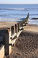 Groyne on Southwold beach - geograph.org.uk - 1073218.jpg