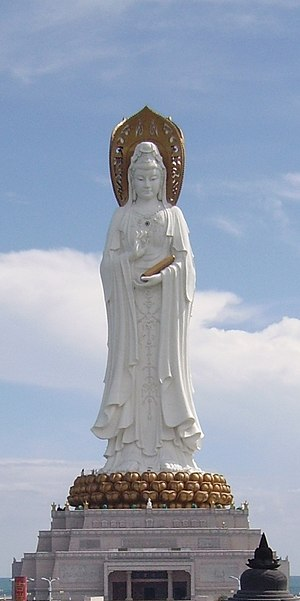 Guanyin of Nanshan - Image: Guan Yin of the South Sea of Sanya
