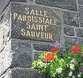 Guernsey 2012 109, St Saviour, town hall sign.jpg
