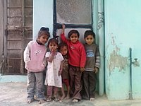 Gujarati Village Kids in Mehsana.jpg