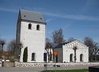 Härslöv Place in Skåne, Sweden