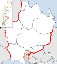 Håbo Municipality in Uppsala County.png