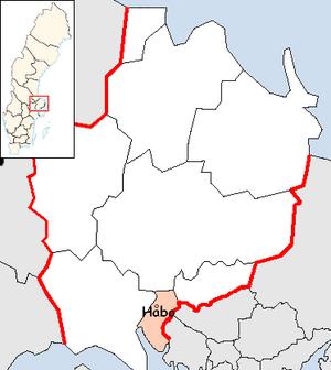 Håbo Municipality - Image: Håbo Municipality in Uppsala County