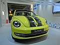 HK 海洋公園 Ocean Park showroom Volkswagen 福士甲蟲車 VW The Beetle sign yellow car night Apr-2013.JPG