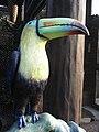 HK Ocean Park big mouth brid in art Toucan Ramphastos SP Sep-2012.JPG