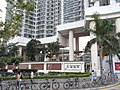 HK Tung Chung 1 Hing Tung Street 東堤灣畔 Tung Chung Crescent bike parking Oct-2012.JPG
