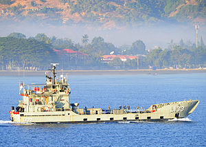 HMAS Betano (L 133) - HMAS Betano in June 2011