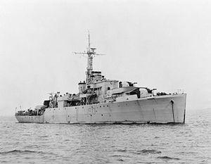 HMS Alacrity (U60) - HMS Alacrity 1945 IWM FL 990