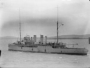 Azalea-class sloop - Image: HMS Azalea IWM SP 000329