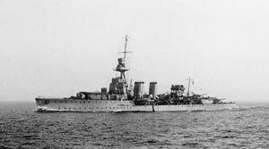 HMS Curlew (D42) - Image: HMS Curlew