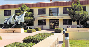 Edwards Air Force Base - Headquarters Building, Air Force Test Center, Edwards AFB