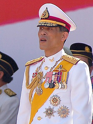 Crown Prince of Thailand - Image: HRH Vajiralongkorn (Cropped)