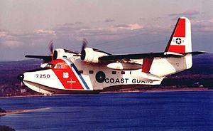 Grumman HU-16 Albatross - U.S. Coast Guard HU-16E from CGAS Cape Cod in the 1970s.