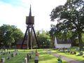 Hagby kyrka bell tower.jpg