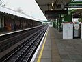 Hainault station platform 2 look south.JPG