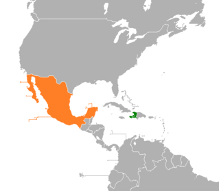 Diplomatic relations between the Republic of Haiti and the United Mexican States