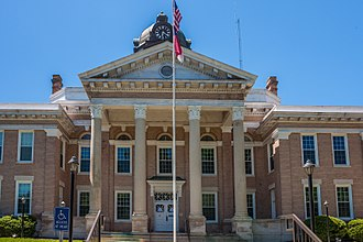 Halifax County, North Carolina - Image: Halifax Co Courthouse 5328