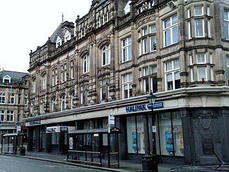Halifax (bank) - The main branch of Halifax, in Halifax