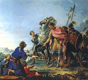 Noël Hallé - Justice of Trajan, 1765
