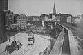 Hamburg Blick vom Baumwall auf die Binnenhafenbrücke 1912.jpg